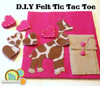 Get the free step by step tutorial and pattern for our Giraffe Tic Tac Toe project on 'The Blog' : http://americanfeltandcraft.wordpress.com/2014/01/06/d-i-y-giraffe-tic-tac-toe/