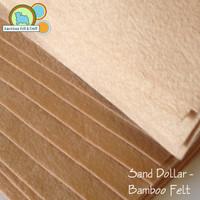 Sand Dollar - Bamboo Felt
