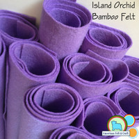 Island Orchid - Bamboo Felt