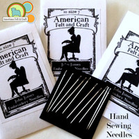 Hand Sewing Needles - Felt Recommended