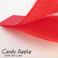 Hook and Loop- Candy Apple