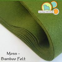 Moss - Bamboo Felt