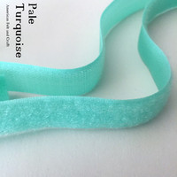 Hook and Loop - Pale Turquoise