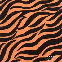 Tiger Print Acrylic Felt