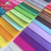 Polyester Felt Pack - 40 Sheets