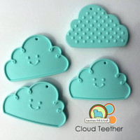 Cloud Teething pendant -silicone