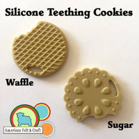 Silicone Teething Cookies