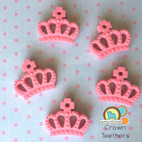 Silicone crown pendant
