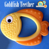 Silicone Goldfish Teether