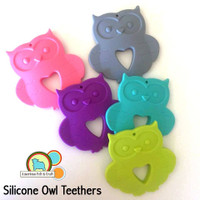 Owl Teether -Silicone