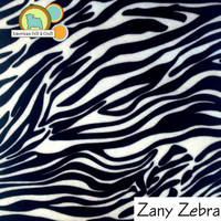 Zany Zebra - Acrylic Print Felt