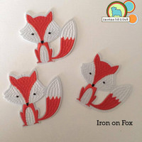 Fox - Iron On Patch