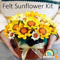 Felt Sunflower Kit