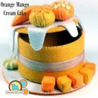 Mini Cake Box Kit- Orange Mango Cream Cake