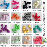 10 mm teething beads