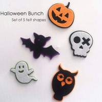 Halloween Felt Shapes