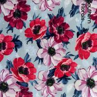 Southern florals  print felt