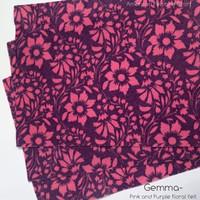 Gemma- Floral felt