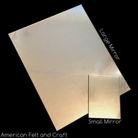 Large Unbreakable Craft Mirror