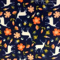 Deer felt- felt print -NEW