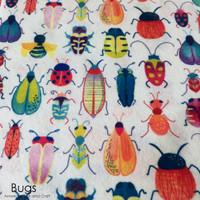 Bugs- printed felt