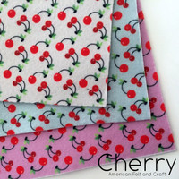 Cherry- Limited Edition Felt Set