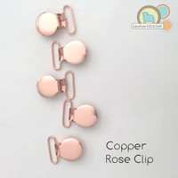 Rose Gold/ Copper Clip