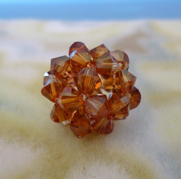 Fortune telling crystal ball game box / instructions 32 sided die.