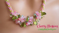 Cherry Blossoms - Necklace Kit