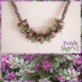 Purple Sage v2 - Necklace Kit