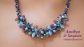 Amethyst & Turquoise - Necklace Kit