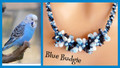 Blue Budgie - Necklace Kit