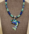 Patchwork Quilt - Dolphin Necklace Kit