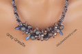 Gray Granite - Necklace Kit