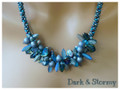 Dark & Stormy - Necklace Kit