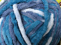 Chenille Yarn - Denim Blues