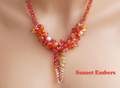 Sunset Embers - Necklace Kit