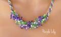 Purple Lily -  Necklace Kit