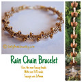 Rain Chain Bracelet Kit - Gold