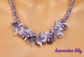 Lavender Lily -  Necklace Kit