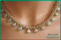 Dropalicious Necklace Kit - Mint Gold