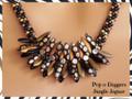 Pop-o-Daggers - Jungle Jaguar - Necklace Kit
