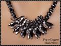 Pop-o-Daggers - Black/Silver - Necklace Kit