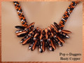 Pop-o-Daggers - Rusty Copper - Necklace Kit