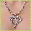 Heart of Flowers Pendant - Necklace Kit