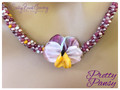 Pretty Pansy - Necklace Kit