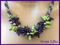 Grape Lilies - Necklace Kit
