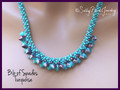 Bib of Spades Turquoise - Necklace Kit