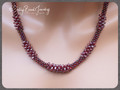 Nugget Clusters - Garnet - Necklace Kit