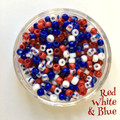 Seed Mix - Red / White & Blue